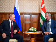 """США назвали неприемлемым визит Путина в """"оккупированную"""" Абхазию"""
