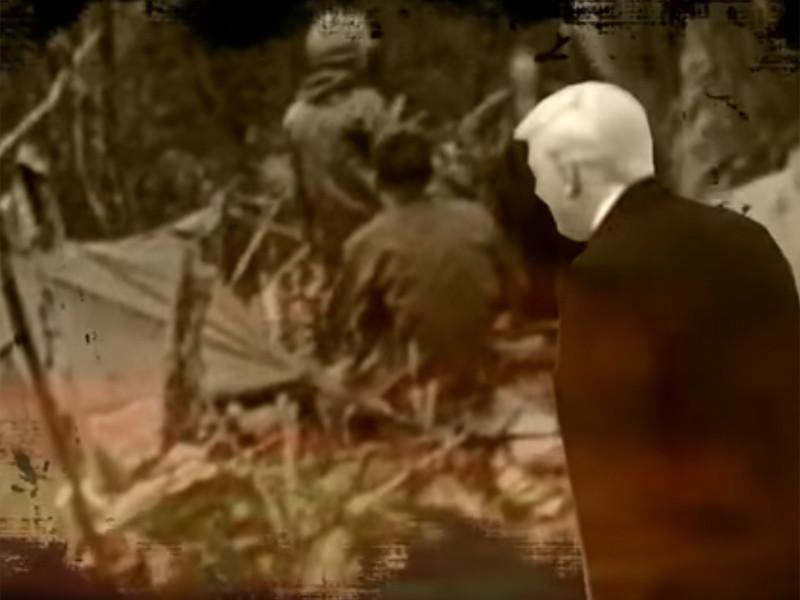 Северная Корея показала видео с Трампом на фоне кладбища и с предупреждением о ракетном ударе по Гуаму
