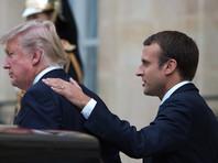 Трамп заверил Макрона, что готов применить военные меры против КНДР