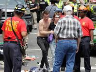 В результате наезда автомобиля на демонстрантов в Шарлотсвилле погиб человек, много пострадавших (ВИДЕО)