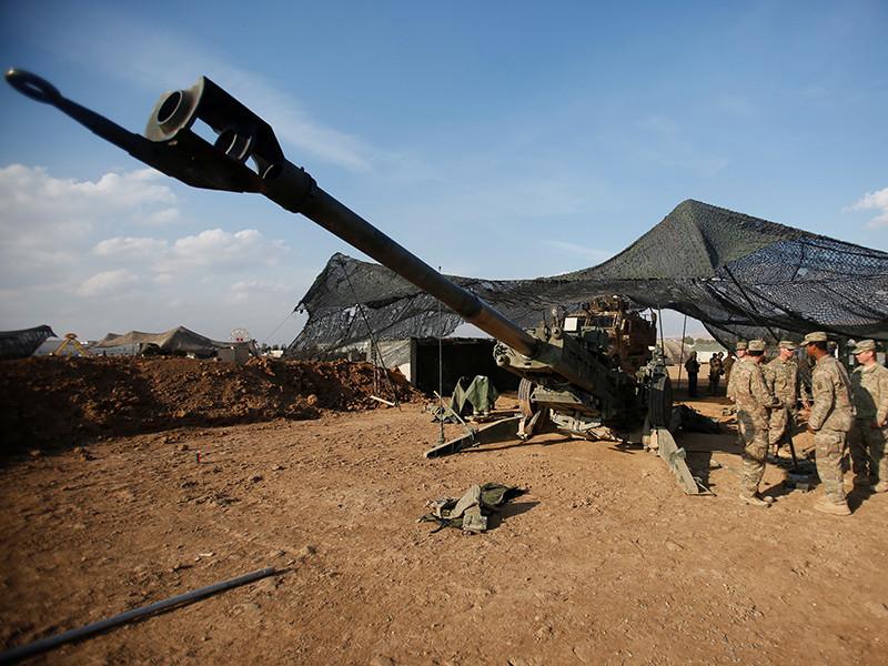 "Пентагон заявил о гибели американских солдат в результате ""артиллерийской ошибки"""