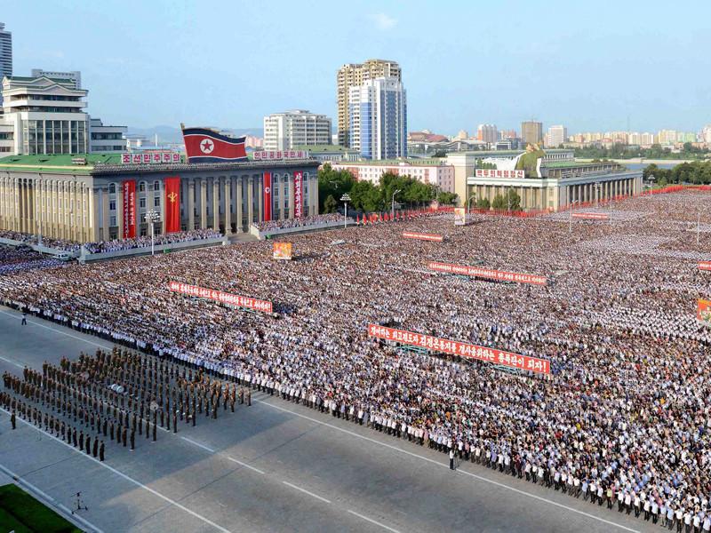 Пхеньян, 9 августа 2017 года