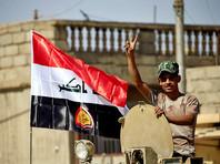 По словам командующего генерала Абдуламира Яраллы, военные после освобождения центра города водрузили флаг Ирака над цитаделью