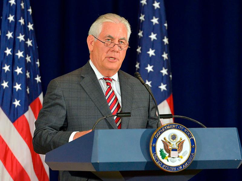 Тиллерсон назвал срок ответа США на сокращение американской дипмиссии в России