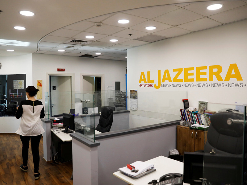 Вещание катарского телеканала Al Jazeera в Израиле будет прекращено, а офисы компании закрыты