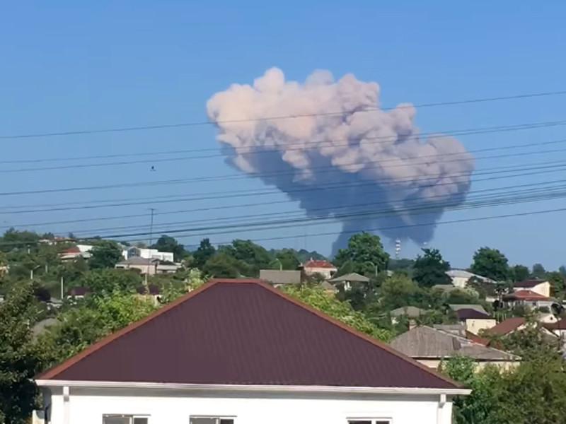 В Абхазии произошел взрыв на складе боеприпасов в селе Приморском Гудаутского района