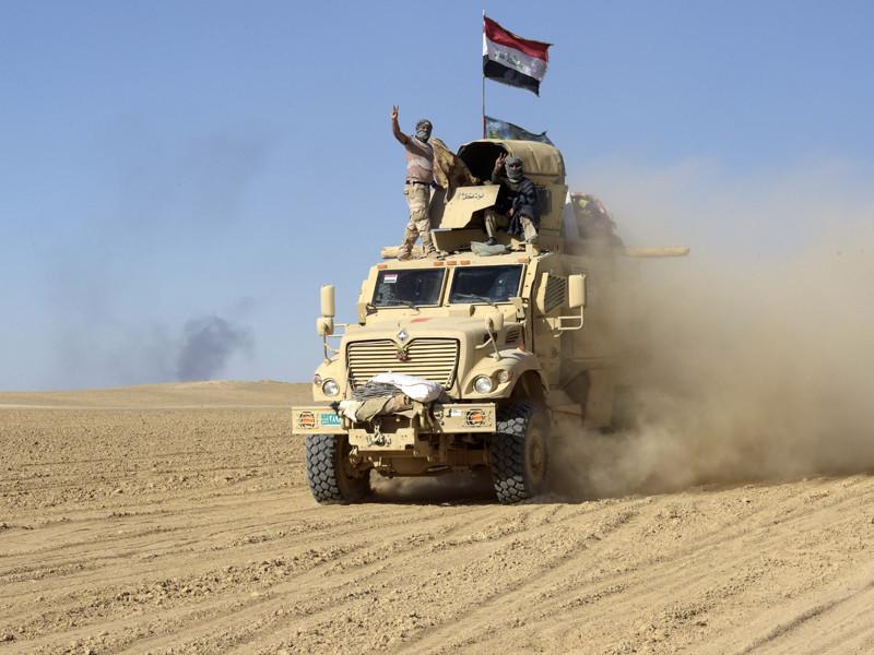 """Армия Ирака начала наступательную операцию по освобождению от террористов """"Исламского государства""""* города Алль-Афар - последнего крупного населенного пункта, который контролируют экстремисты в этой стране"""