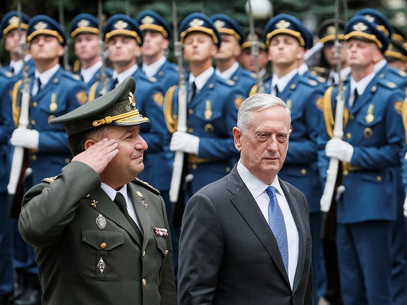 Многие наблюдатели отмечают, что главный гость - глава Пентагона Джеймс Мэттис, известный по прозвищам Бешеный пес и Хаос.