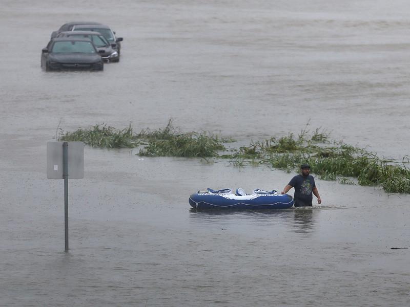 Техас, 28 августа 2017 года