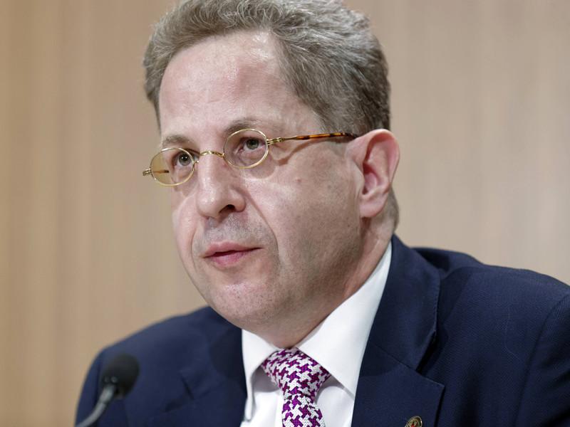 Президент Федерального ведомства по защите конституции (Bundesamt für Verfassungsschutz, BfV - выполняет функции контрразведки) Ханс-Георг Маасен