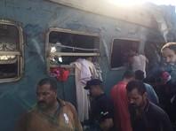 Число жертв столкновения поездов в Египте превысило 40 человек