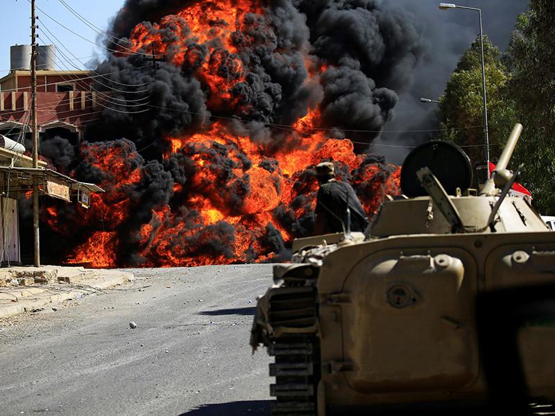 Вооруженные силы Ирака взяли под контроль центр города Талль-Афар
