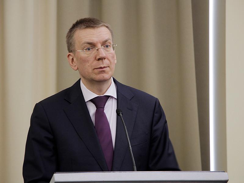 """Во время запланированных военных учений """"Запад-2017"""" Латвия должна быть готова к различным возможным провокациям, которые сначала могут выглядеть как инциденты, а затем перерасти в масштабный кризис, заявил министр иностранных дел республики Эдгар Ринкевич"""