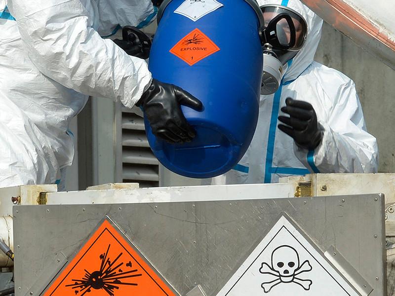 По его словам, одним из этапов операции ООН-ОЗХО стало уничтожение 27 объектов, на которых осуществлялись хранение и производство химического оружия, 25 из которых были уничтожены
