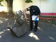 В Одессе ко Дню независимости Украины разбили бюст маршала Жукова