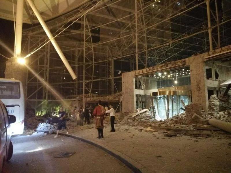 В провинции Сычуань в Китае произошло землетрясение