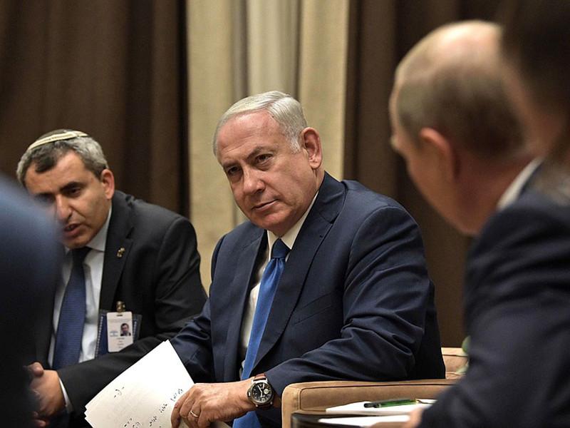 Премьер Израиля Беньямин Нетаньяху рассказал о причинах срочной встречи с президентом России Владимиром Путиным в Сочи, куда он приехал на один день