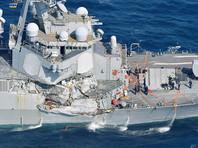 Командир столкнувшегося с другим кораблем американского эсминца Fitzgerald будет смещен с должности