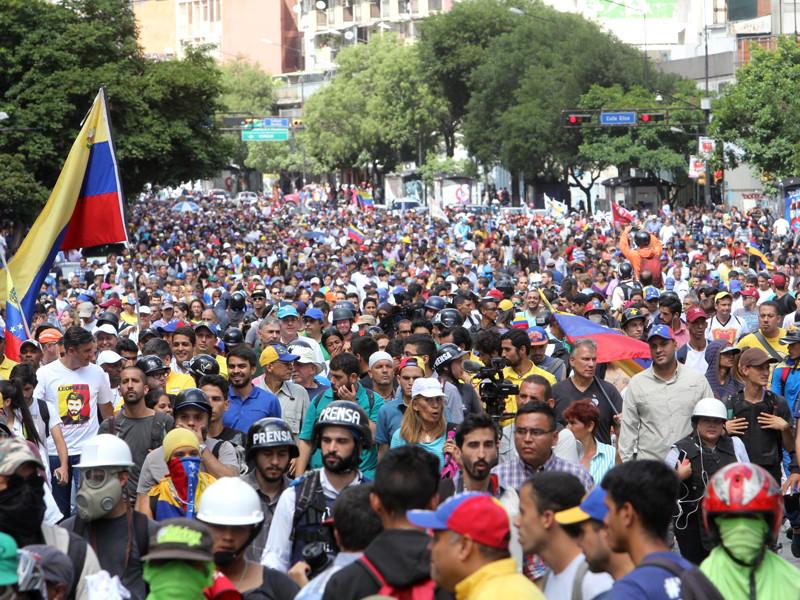 Каракас, 4 августа 2017 года