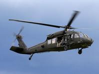 Вертолет армии США Black Hawk упал в воду в ходе тренировочного полета у берегов Йемена