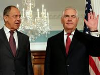Министр иностранных дел России Сергей Лавров и госсекретарь США Рекс Тиллерсон