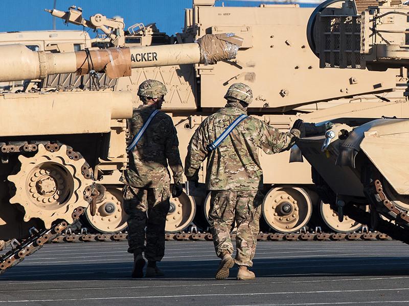 Несколько танков армии США получили повреждения при перевозке в Польше, возбуждено дело