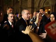 В Нью-Йорке избиты и задержаны пять человек, сорвавших речь Эрдогана и обвинивших его в терроризме