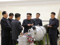 Ранее в воскресенье Трамп отреагировал на шестое, самое мощное ядерное испытание, проведенное Северной Кореей