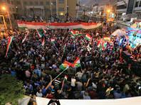 """Лидер Иракского Курдистана заявил, что сторонники независимости автономного региона одержали победу на референдуме, и призвал власти Ирака принять участие в """"серьезном диалоге"""" вместо угроз санкциями курдскому региональному правительству"""