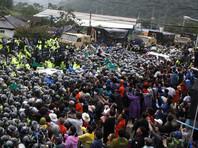 На прошлой неделе в уезде Сонджу прошли протесты против размещения американского комплекса THAAD