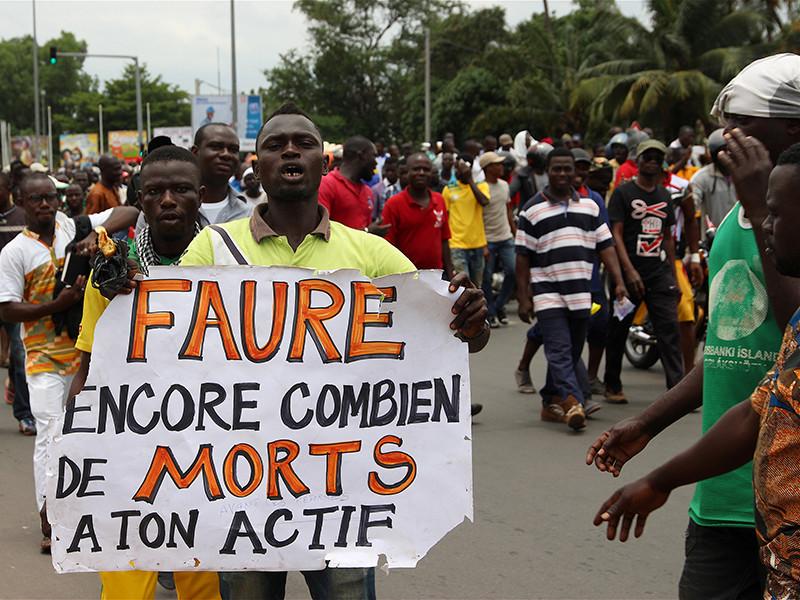 Власти Того заблокировали доступ в интернет для жителей страны на фоне продолжающихся акций протеста против режима президента Фора Гнассингбе, семья которого бессменно правит государством на протяжении 50 лет
