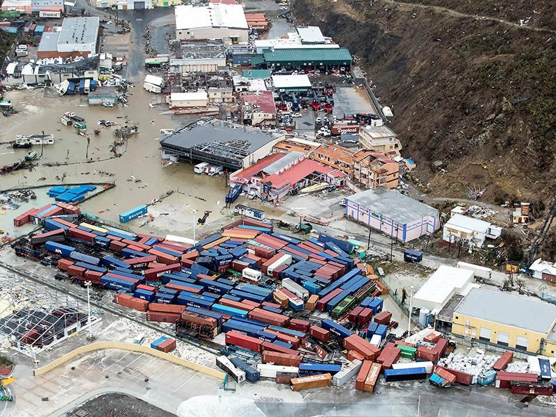 """Число жертв урагана """"Ирма"""" на островах Карибского бассейна увеличилось до 10 человек"""