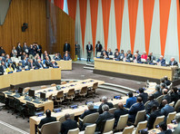 Трамп дебютировал в ООН с речью, в которой упомянул свой скандальный небоскреб