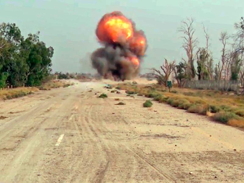 ИГ* попыталось перейти в наступление в день второй годовщины российской операции в Сирии