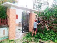 В процессе ликвидации последствий тайфуна задействованы около 30 тыс. военнослужащих и сотрудников полиции