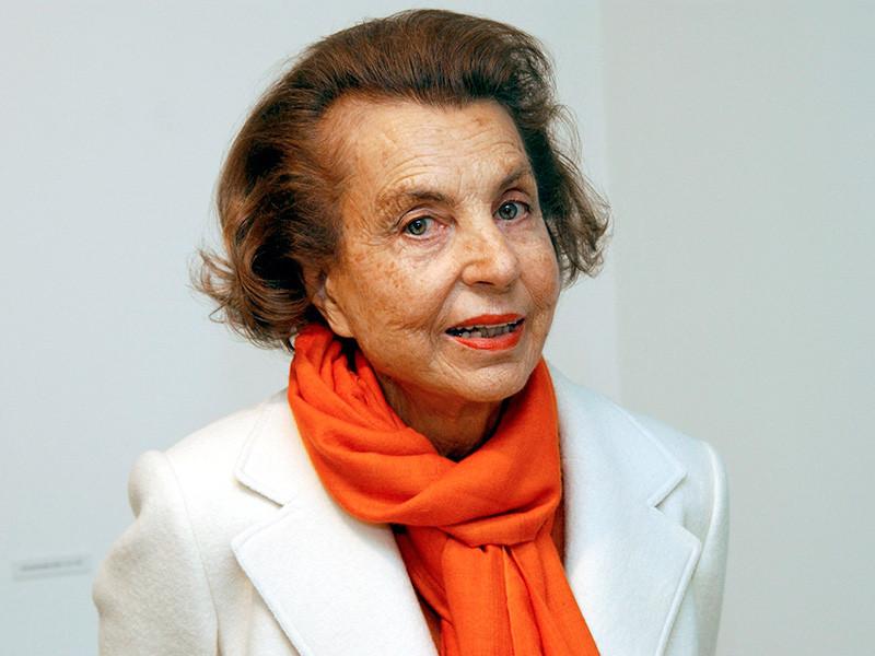 Во Франции в возрасте 94 лет скончалась самая богатая женщина мира, совладелец косметической компании L'Oreal Лилиан Беттанкур