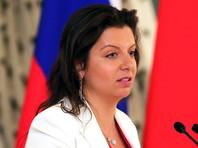 """Главный редактор телеканала RT Маргарита Симоньян заявила РБК: """"Нет сомнений, что ответные меры России будут такими же. Кому это нужно и зачем? Точно не нам и не России"""""""