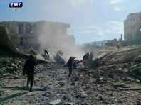 В Минобороны РФ заявили, что сирийская авиация нанесла удар по складу боеприпасов, где хранили химическое оружие боевики