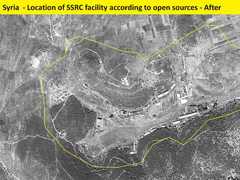 Опубликованы снимки разбомбленного Израилем сирийского завода химоружия и С-400 рядом с ним
