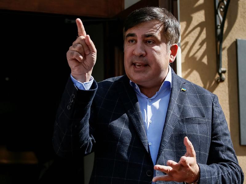 Саакашвили обвинил украинскую полицию в краже паспорта, полиция открестилась