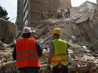 Землетрясение магнитудой 7,1 произошло на юго-востоке Мексики 19 сентября в 18:14 по времени UTC