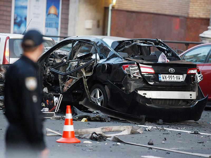 Названо имя модели, которой оторвало ногу при взрыве авто  в центре Киева