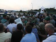 На Украине задержали пятерых сторонников Саакашвили за прорыв на польской границе