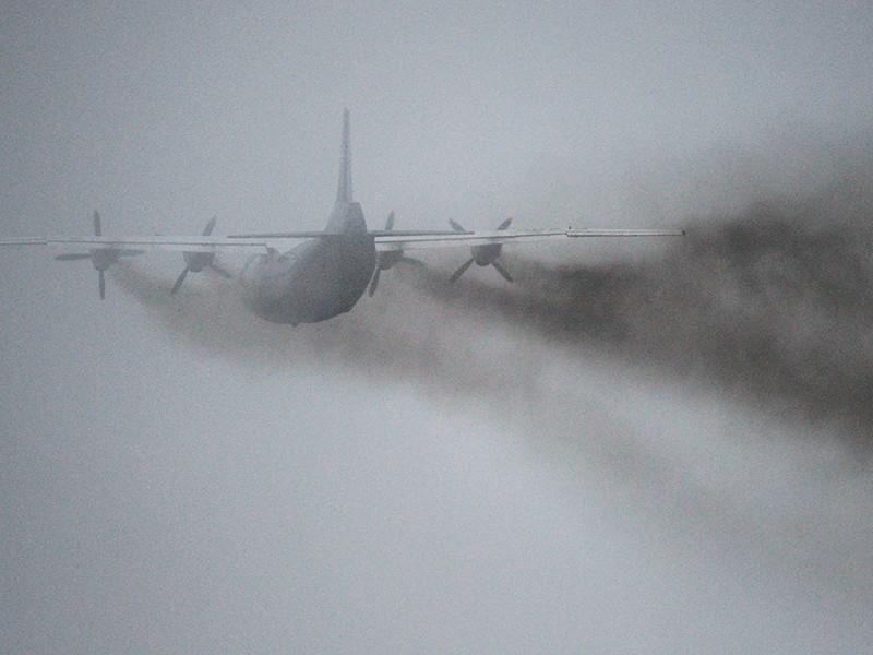 В ДРК разбился военно-транспортный Ан-12, минимум десять человек погибли