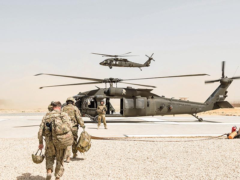 США отправят в Афганистан дополнительно около трех тысяч военных