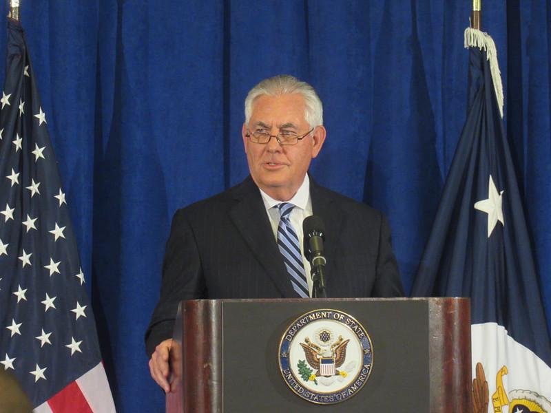 Тиллерсон сообщил о непризнании США результатов референдума в Иракском Курдистане