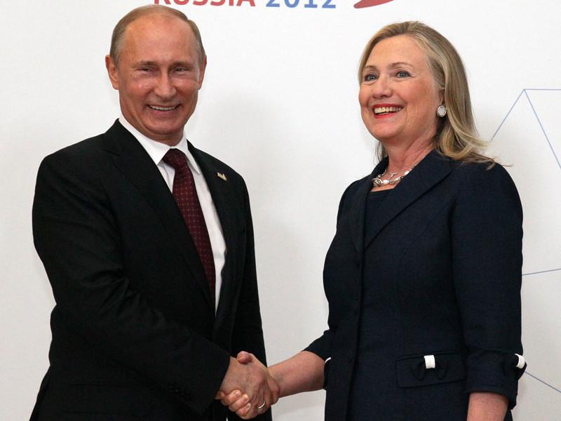 """Клинтон объяснила свой провал на выборах президента США """"личной вендеттой"""" Путина"""