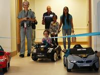 """Американский госпиталь обзавелся собственным детским """"автопарком"""""""