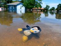 """В проекте объясняется, почему шторм """"Харви"""" особенный. По данным Национальной метеорологической службы, в ходе урагана на город Мон-Бельвия к востоку от Хьюстона выпало 51,88 дюймов осадков"""
