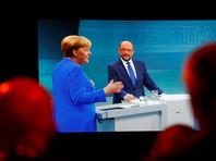 Меркель и ее главный оппонент Шульц поспорили о мигрантах и Турции на теледуэли